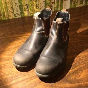 Blundstone boots dark brown men's 9.5